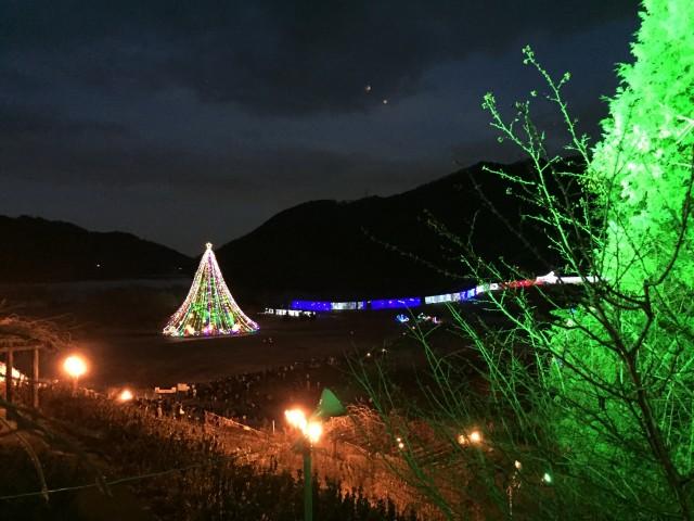 宮ケ瀬クリスマスライドレポート